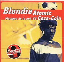 CD CARTONNE 2T  BLONDIE  ATOMIC     DE 1998  TRES BON ETAT