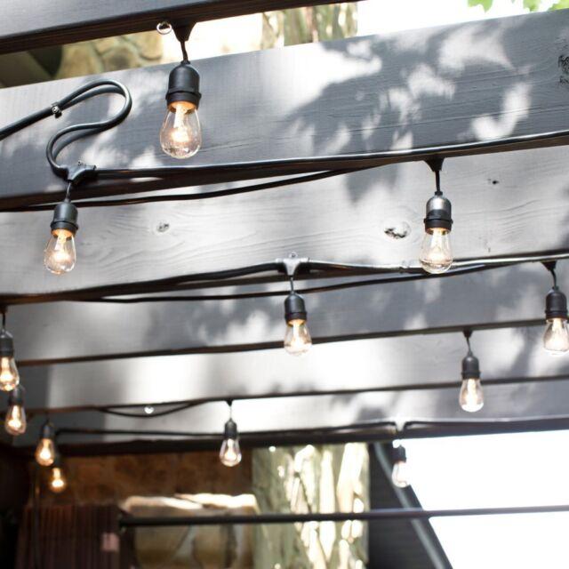 Bulbrite String15 E26 S14kt 48 Ft Outdoor Incandescent String Light