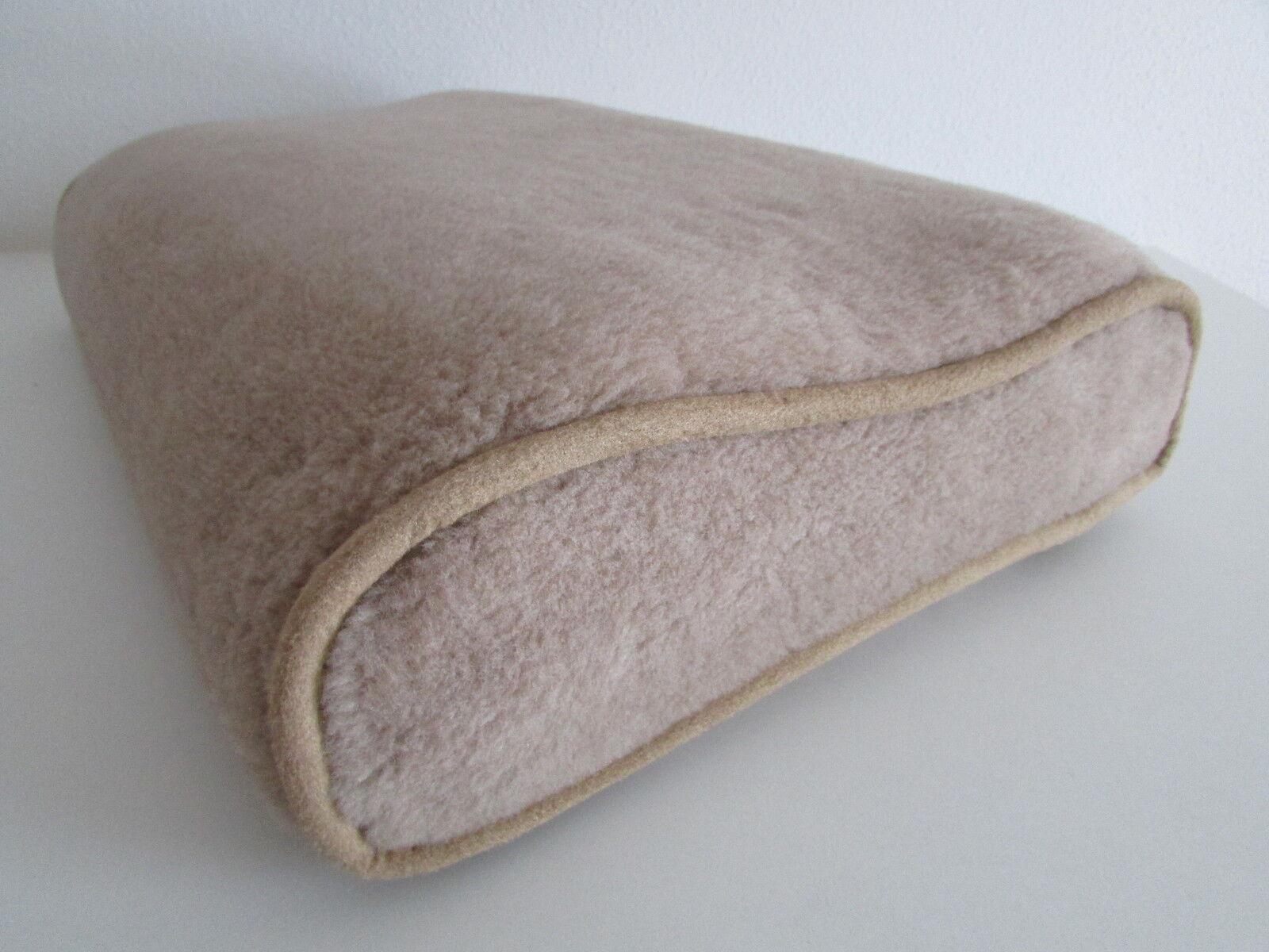 Confort sommeil oreiller, coussin, ortho orthopédique avec référence chameau laine