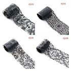 Trendy Lace Style Nail Art Transfer Foil Nail Stickers Polish Decal Tip Decor