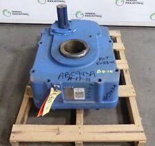 Rebuilt Foote Jones Sm H 8407 15 Shaft Mount Screw Conveyor Gearbox 151 Ratio