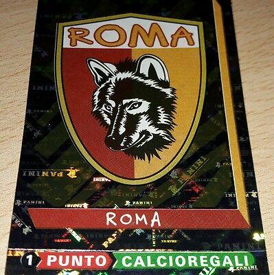 CALCIATORI FIGURINE PANINI 2000 ROMA SCUDETTO 313 VELINA ORIGINALE