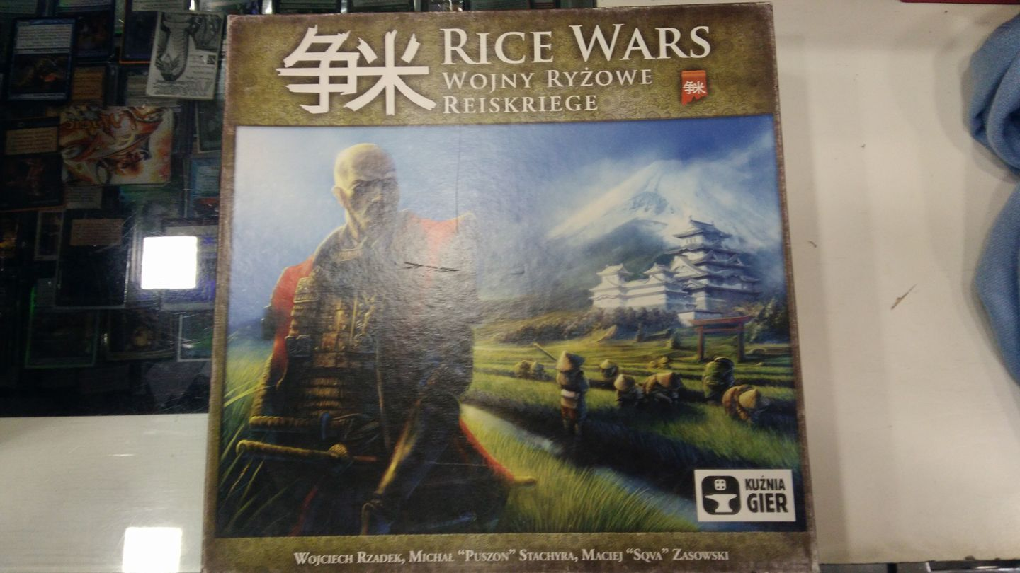 Rice Wars, Boardgame, USED, by Kuźnia Gier, Multilingual Edition