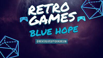 Retro Games Blue Hope