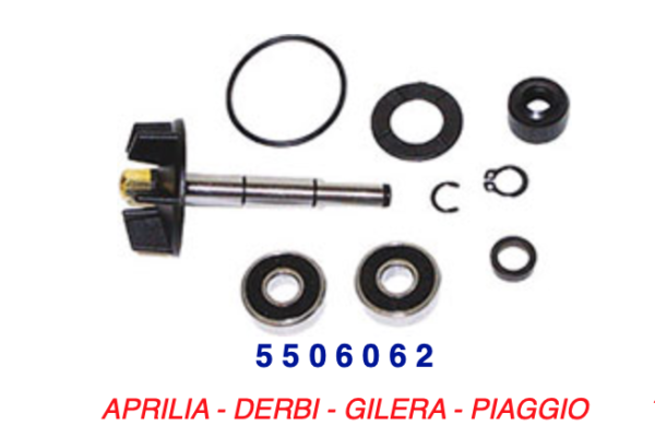 5506062 Kit Revisione Pompa Acqua Derbi Gp1 50 01-03 Originale Al 100%