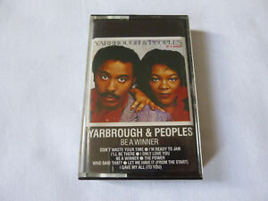 YARBROUGH-amp-PEOPLES-BE-A-WINNER-RARE-1984-FUNK-SOUL-DISCO-CASSETTE-TAPE