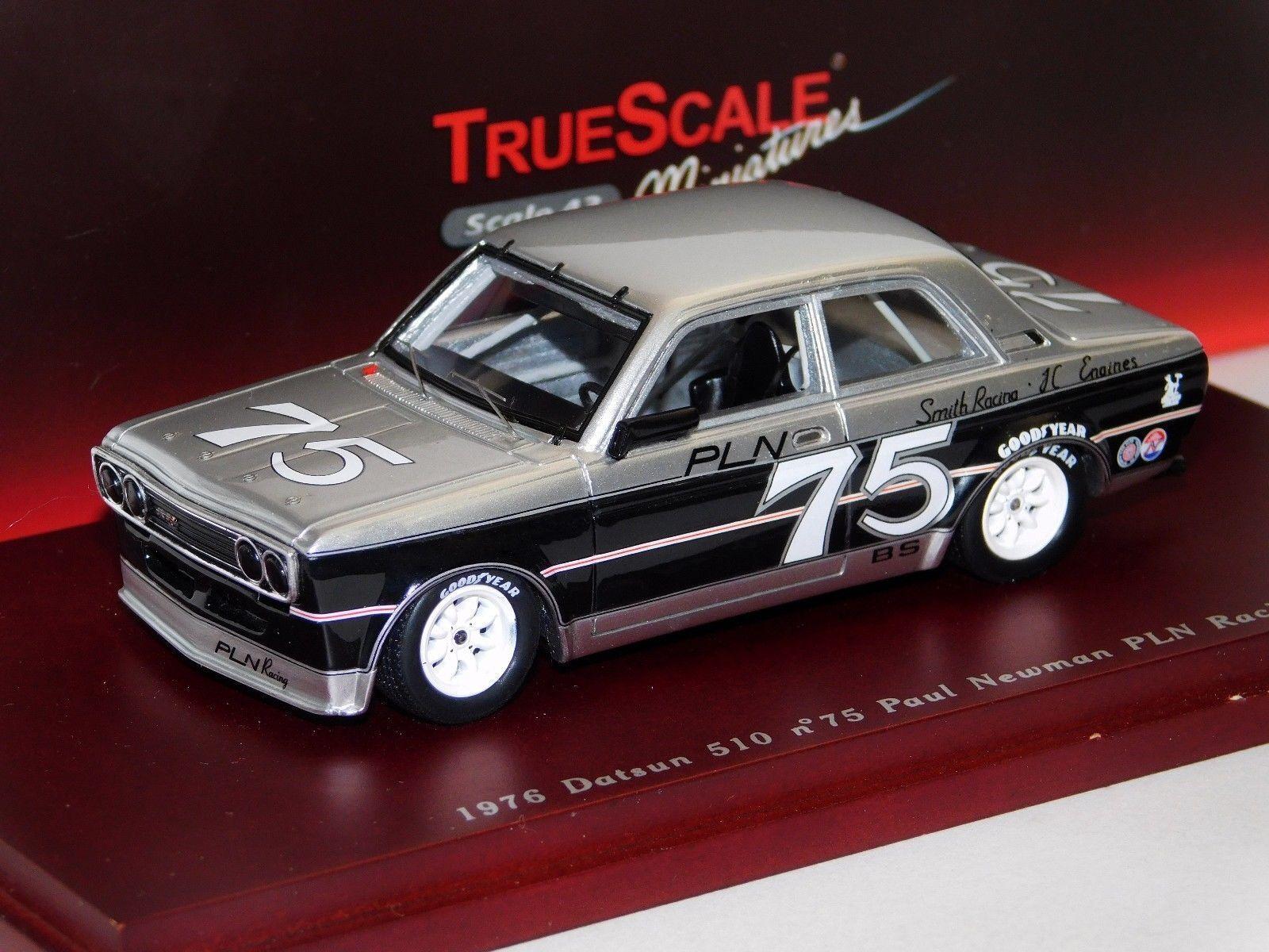 Datsun 510  75 Paul Newman  Racing TRUESCALE TSM104318 1 43