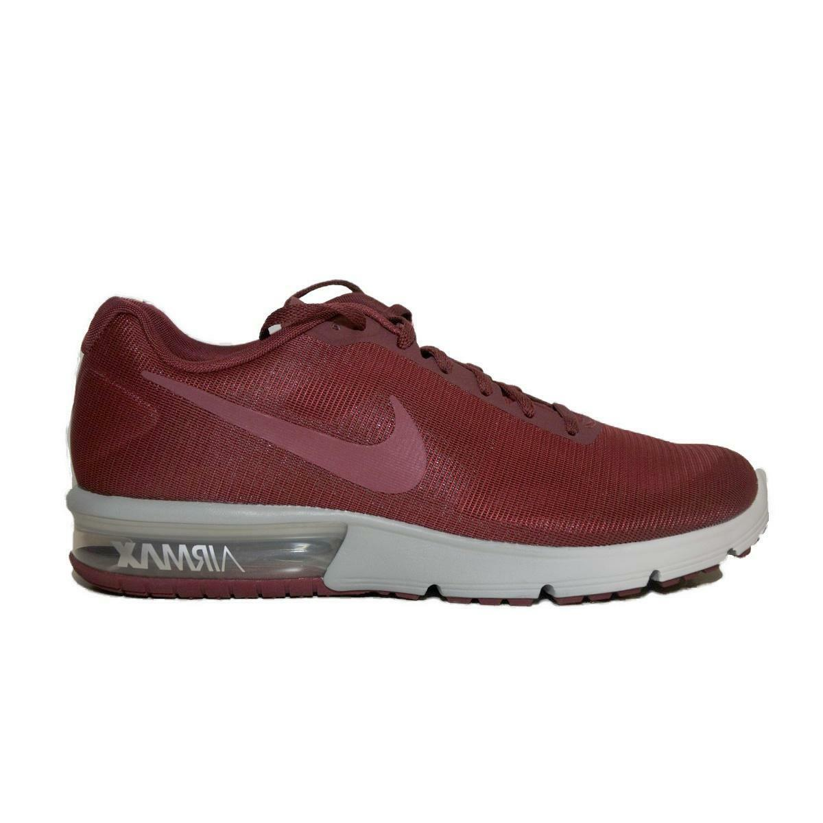 Mens NIKE AIR MAX SEQUENT Team Red Trainers 719912 606