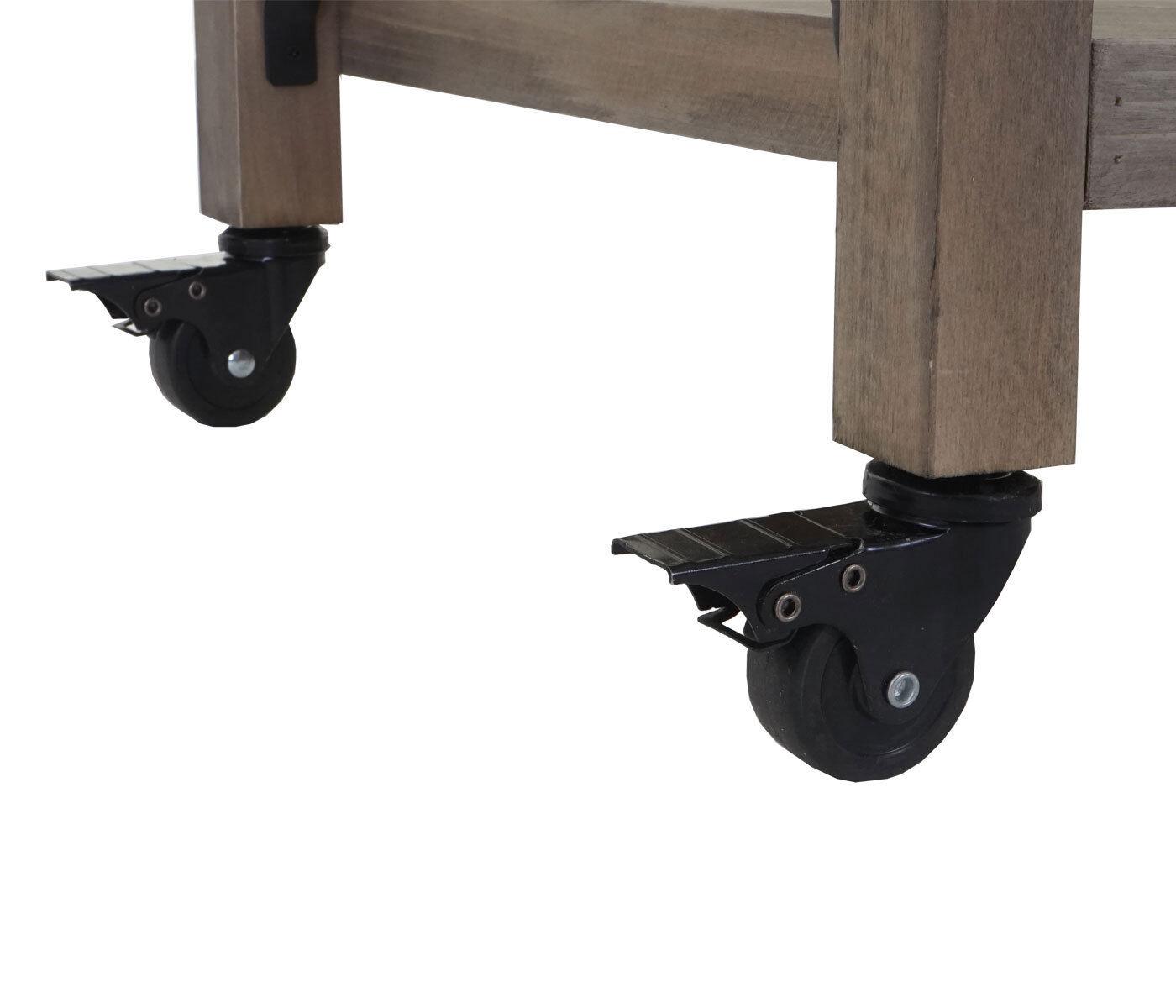 Trolley hwc-c86, Kitchen Trolley Bar Cart, Kitchen Aid, 85x114x47cm