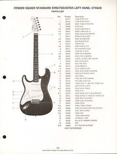 s l300 vintage ad sheet 3566 fender guitar parts list squier fender stratocaster parts diagram at panicattacktreatment.co