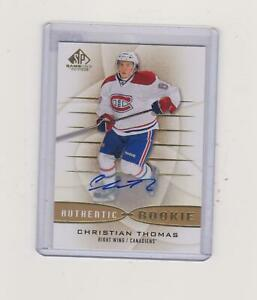 2013-14-CHRISTIAN-THOMAS-SP-GAME-USED-AUTHENTIC-ROOKIE-AUTO-NO-577