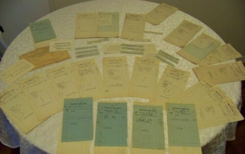 Antique Group Meals Drinks Billiards Receipts National Arts Club 1917