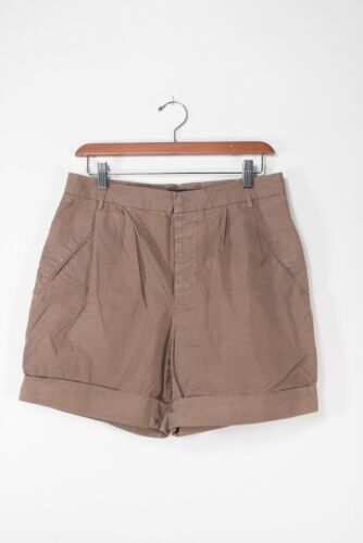 Sofie D'Hoore Womens Size Small Brown Shorts Cotto
