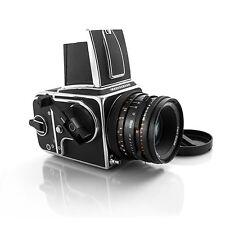 Hasselblad 500 CM 80mm CF A12 magazine Bright Matte screen #1052
