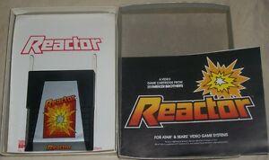 Atari-2600-Reactor-with-Original-Box-1982-VGC-Video-game-Parker-Brothers
