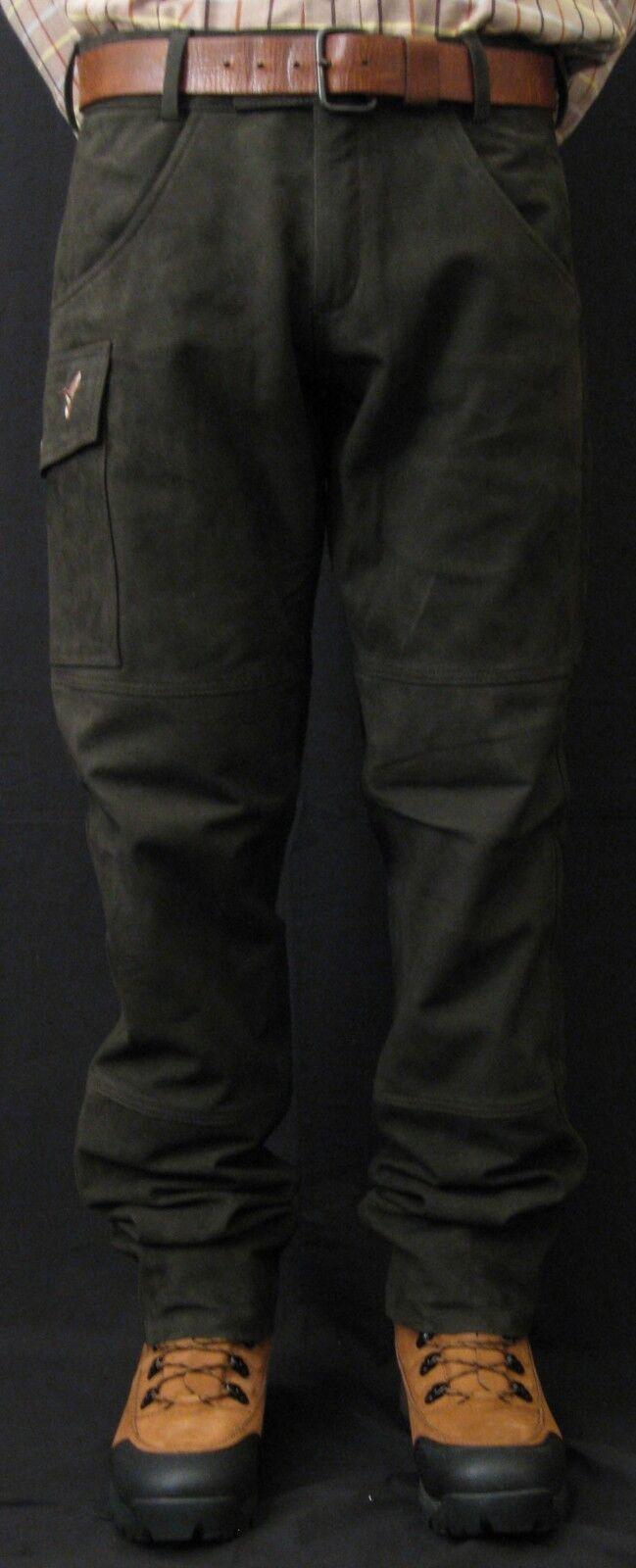 MEN'S BUFFALO LEATHER HUNTING PANTS