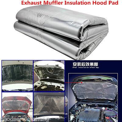 Heat Shield Mat Car Turbo Exhaust Muffler Insulation Hood