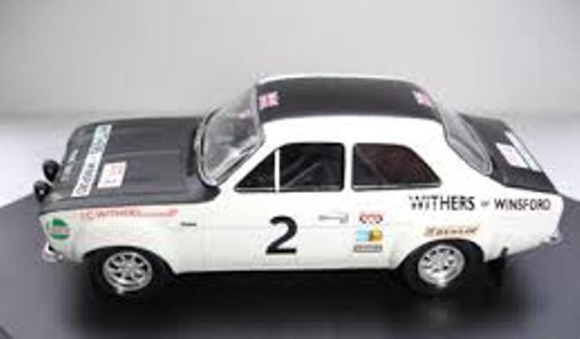 TROFFORD ESCORT Mk1 diecast model rally cars 1969-72 1 43