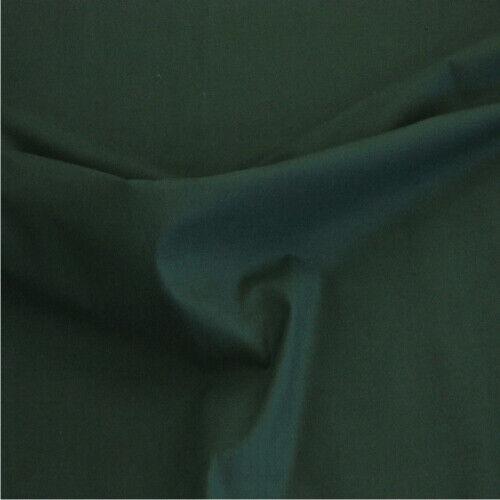 Verde Oscuro Algodón Tela Para Cortinas De Tela Retardante de fuego vendidas por metros Drapeado Etc