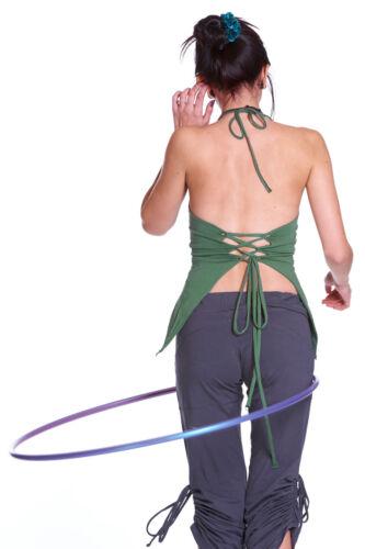 Backless Organic Pixie Top Festival Yoga Clothing Psy Trance Goa Boho Clothing