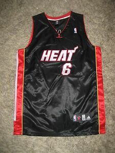 competitive price 3fdbe df38e Details about Lebron King James Miami Heat south beach jersey Cavs  Cleveland the land