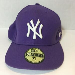 New-York-Yankees-Purple-New-Era-59Fifty-Fitted-Cap-Size-7-5-8