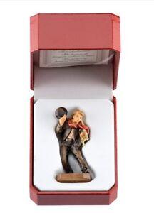 Estatua-Escultura-Deshollinador-CM-7-IN-Madera-De-en-Val-Gardena-Adornada-a-Mano
