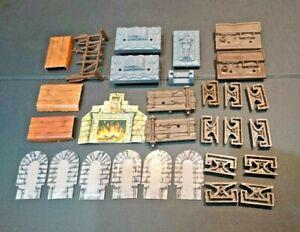 HEROQUEST pièces Lot 2 Original items Hero Quest Board Game Spares MB Bundle