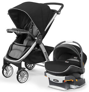 Chicco Bravo Air Stroller w/ KeyFit 30 Zip Car Seat Travel ...