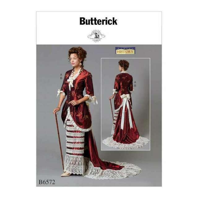 Butterick sewing pattern 6572 costumes E5 14-16-18-20-22