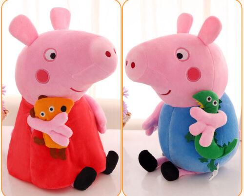 Plüsch Puppe Stofftier 40cm Peppa Pig Schweine Peppa Wutz Familie Plüschtiere DE