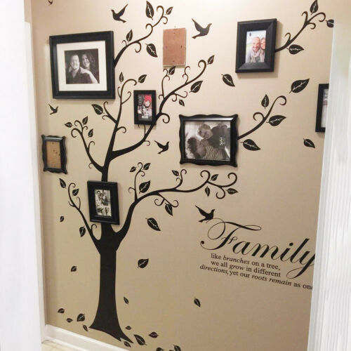 Family Tree Wall Decal Mural Sticker DIY Art Removable Home Decor Stickers Vinyl