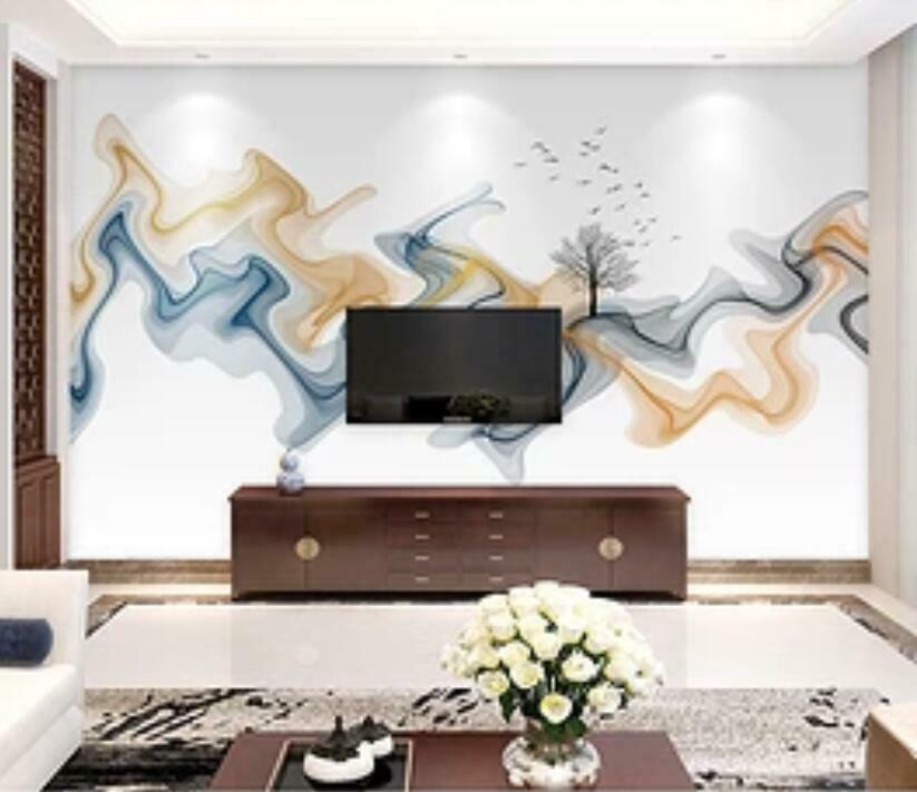 3D Kunst Videowand M1413 Tapete Wandbild Selbstklebend Abnehmbare Aufkleber Amy