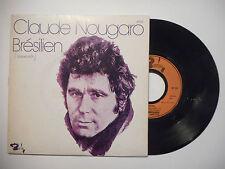 CLAUDE NOUGARO : BRESILIEN ♦ 45 TOURS PORT GRATUIT ♦