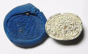 Zurqieh af637 1782-1570 B.c 2nd Intermediate Stone Scarab Ancient Egypt