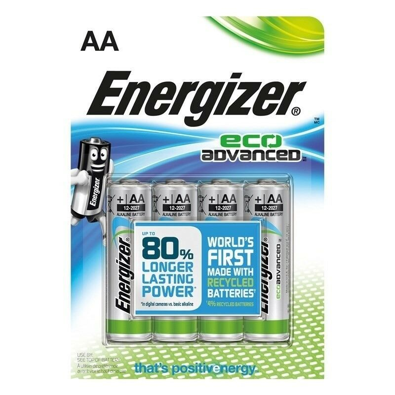 Batterier, Energizer
