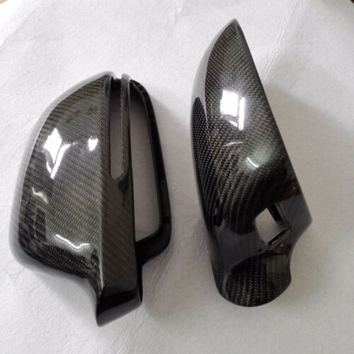 for Audi A8 S8 08-09 D3 car mirror cover carbon fiber surface with side assist