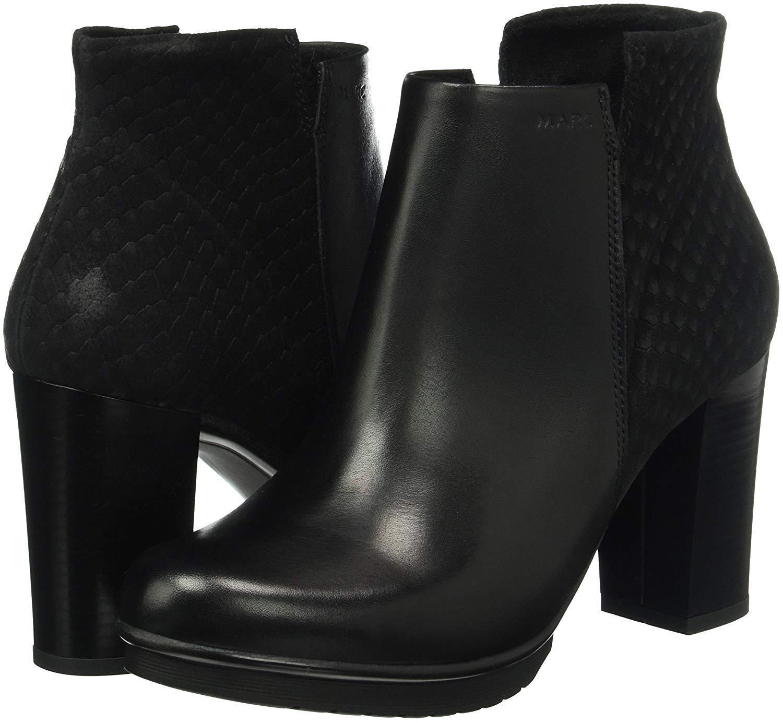 Marc zapatos señora Edina brevemente caña UE botas, negro, talla 40 UE caña bb8ce6