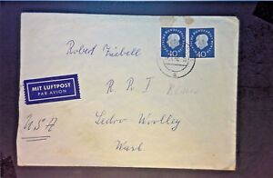 Germany-1960-Airmail-Cover-to-USA-w-2-40pf-Blue-Z1241