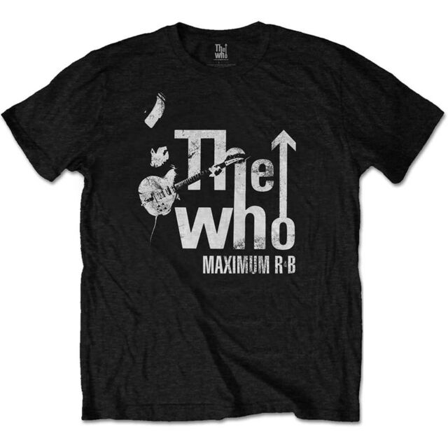 The Who 'Maximum R&B Distressed' T-Shirt - NEW & OFFICIAL!