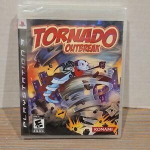 Tornado-Outbreak-PS3-Sony-Playstation-New-Factory-Sealed-RARE-Review-Copy-Konami