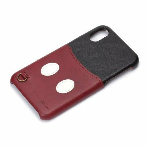 hot sale online d7b77 19fca Disney iPhone X Hard Case Pocket Mickey Mouse Pg-dcs284mky From Japan