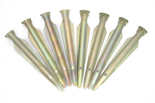 original NVA zeltheringe carpa clavos pinchos Handelsblattrecientemente carpa accesorios 2 4 6 8 10 15 St