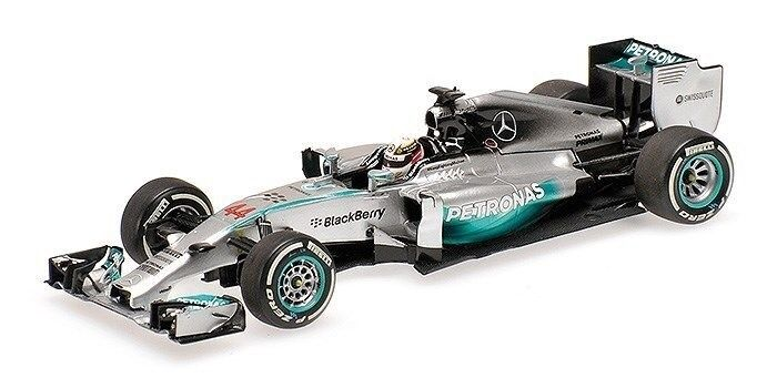 1 43 Minichamps 2014 Mercedes AMG W05 –Bahrain GP vinnare Hamilton 410140244