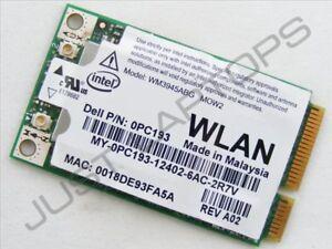 Dell-Vostro-1500-1700-Mini-PCIe-3945ABG-wireless-wifi-wlan-Scheda-PC193-MOW2