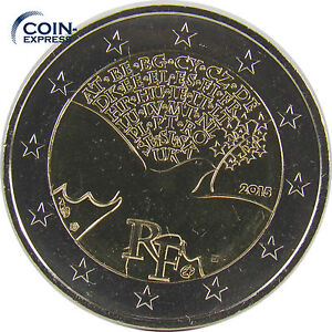 2 Euro Gedenkmünze Frankreich 2015 70 Jahre Frieden In Europa Münze