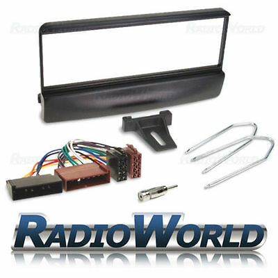 Black Single DIN Fascia Facia Panel Adaptor PC5-83 Keys For FORD Mazda