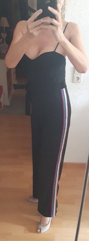 Ayanapa Jumpsuit Overall Catsuit  schwarz NEU NEU NEU Gr. S 36 b81507