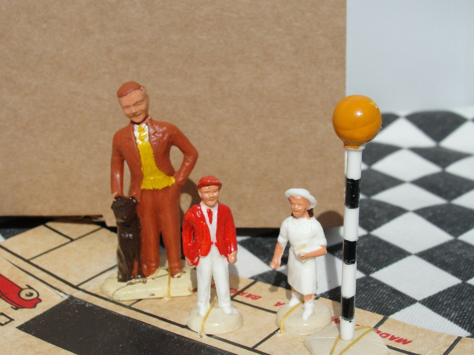 1950 60'S 60'S 60'S A BARRETT & SONS PEDESTRIAN CROSSING SET  P 850 NEW OLD STOCK BOXED 501592