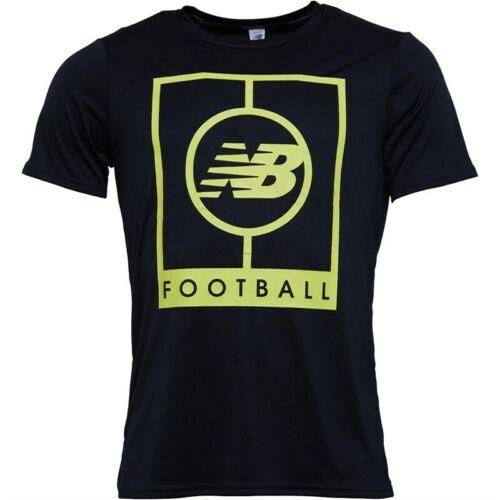 Size/'s M L XL XX-L New Balance Mens Elite Tech Graphic Logo Black T-Shirt NEW
